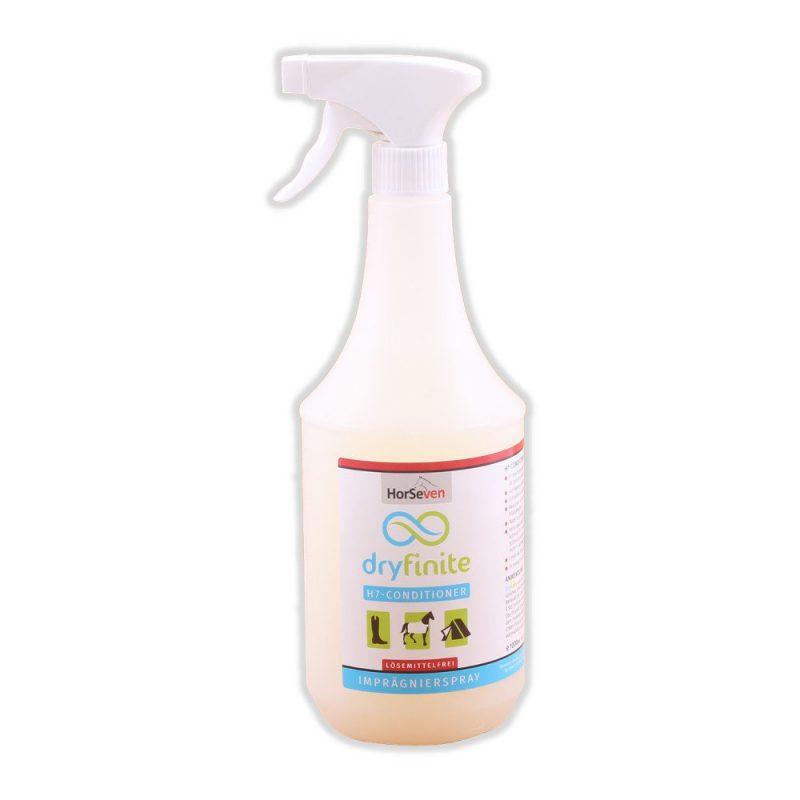 """Produkttest: Imprägnierspray """"Dryfinite"""" von HorSeven"""
