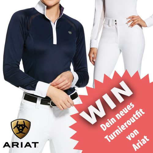 ARIAT WEEK: Gewinne ein Trainings- oder Turnieroutfit!