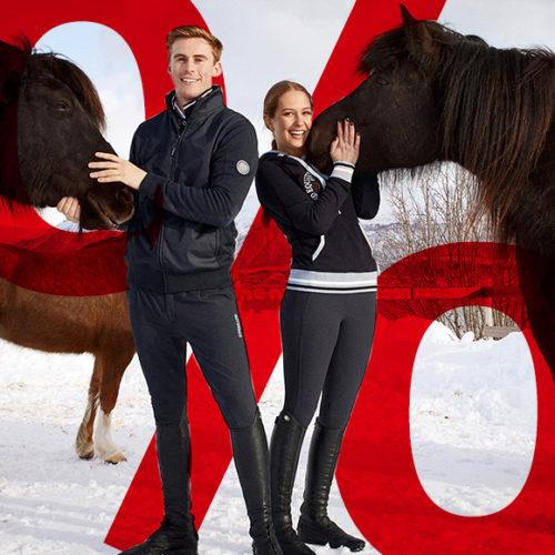 WSV 2021: Wir starten den Winterschlussverkauf im Horse Shop Landenhausen