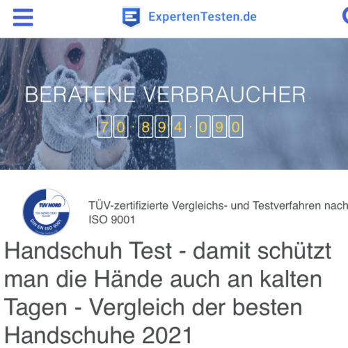 Kennst Du schon ExpertenTesten.de?